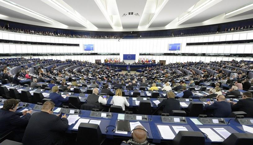 Parlament Europejski /MATHIEU CUGNOT /PAP/EPA