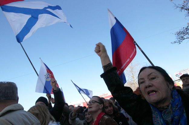 Parlament Krymu: Chcemy do Rosji! Referendum już 16 marca
