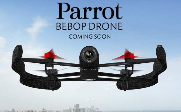 Parrot Bebop Drone /materiały prasowe