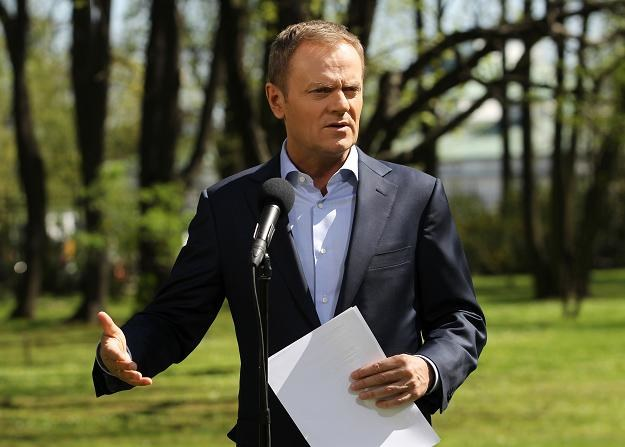 Partia Donalda Tuska traci w sondażach / fot. Radek Pietruszka /PAP