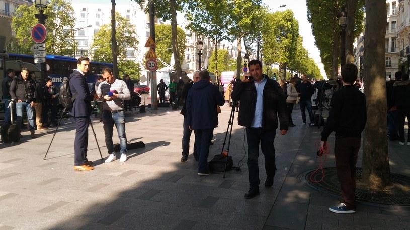 Paryż dzień po zamachu /Michał Michalak /INTERIA.PL