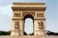 Paryż, Łuk Triumfalny /Encyklopedia Internautica