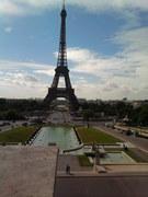 PARYŻ - Wieża Eiffla, znana nam wszystkim : )