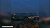 Pas ognia w Oregonie. Od kilkudziesięciu godzin rozprzestrzenia się pożar po uderzeniu pioruna