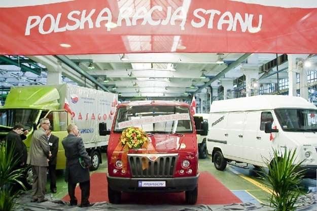 Pasagon został zaprezentowany w fabryce DZT Tymińscy w Lublinie 16 września br. /INTERIA.PL/PAP