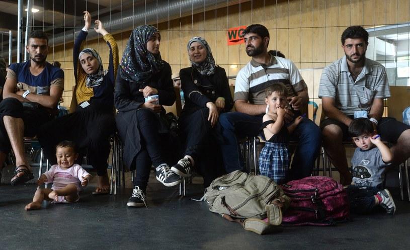 Pasawa, Niemcy. Imigranci czekają na rejestrację / lipiec 2015 /AFP