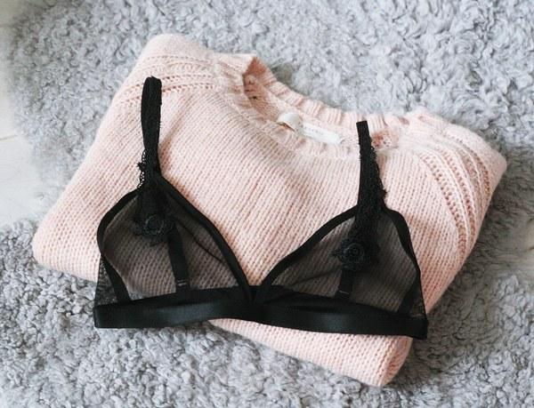 black Soft Bra Cathie./ facebook.pl/lefemininpl