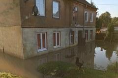 Pasłęk: Rzeka Wąska przekroczyła o 1,5 metra stan alarmowy