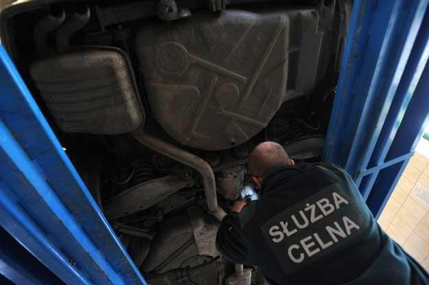 Passat, najpopularniejszy samochód w rejonie przygranicznym. Fot. Wojciech Stóżyk /Reporter
