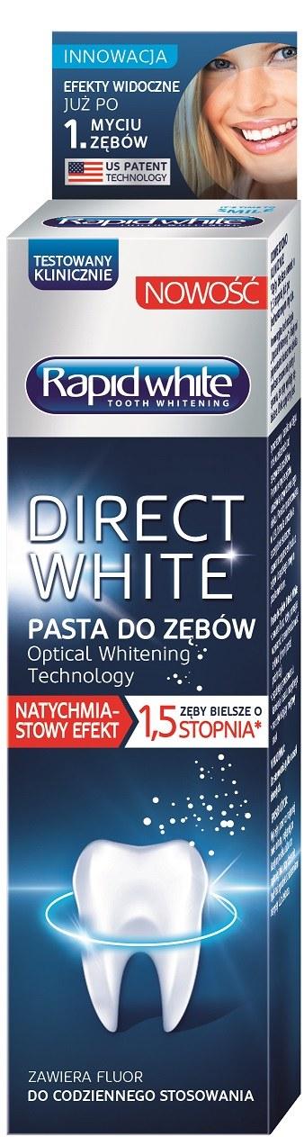Pasta do zębów Rapid White /materiały prasowe