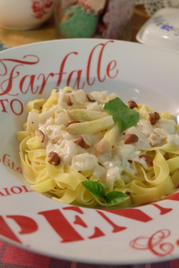 pasta i szparagi
