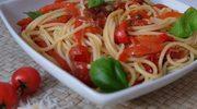 Pasta, pasta… spaghetti z papryką// Pasta, pasta… Spaghetti et poivrons.