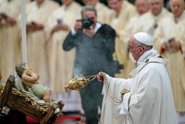 Pasterka w bazylice Świętego Piotra