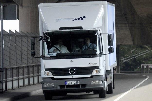 Pasy warto zapinać również w ciężarówkach /