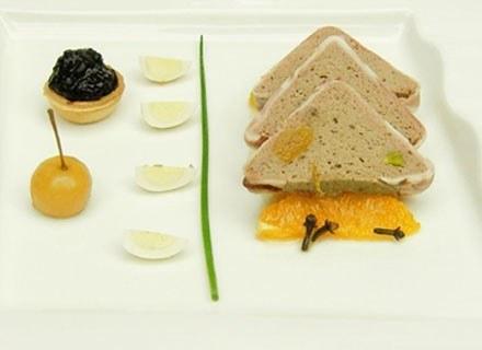 Pasztet z królika z pistacjami /materiały prasowe