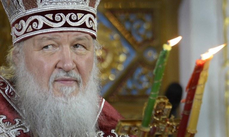 Patriarcha Moskwy i Wszechrusi Cyryl /AFP