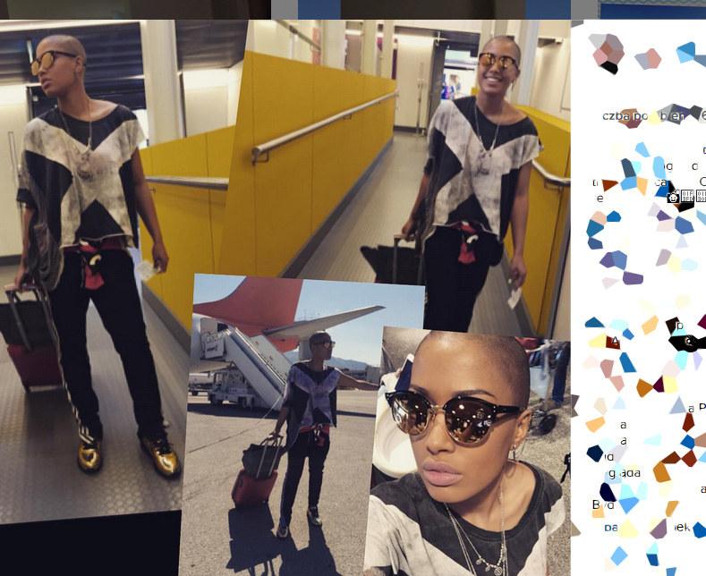 Patricia Kazadi w nowej fryzurze /Instagram@kazadi /INTERIA.PL