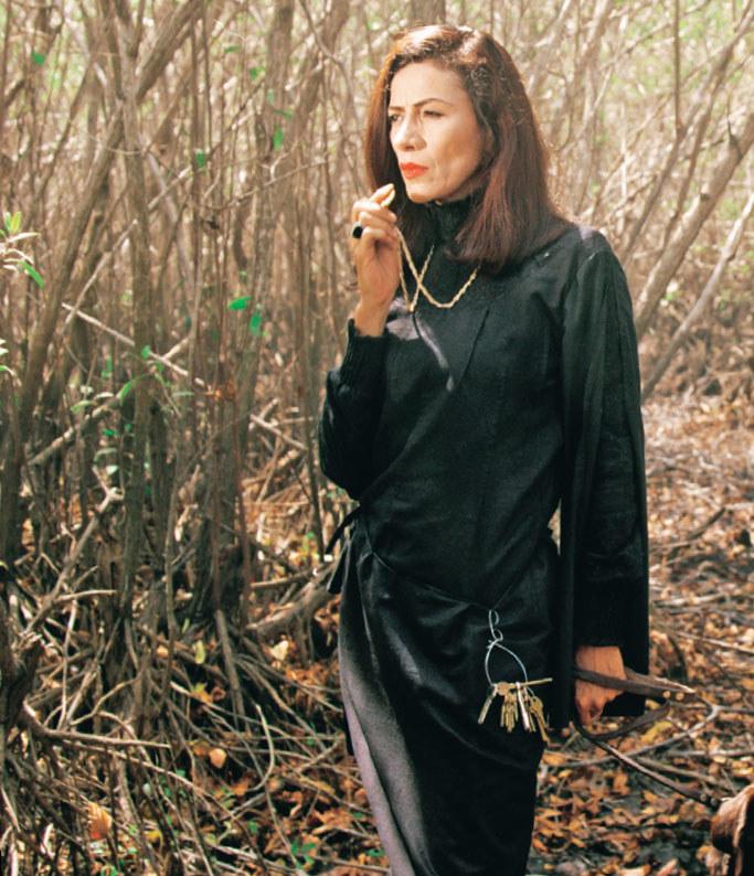Patricia Reyes Spindola jako Alberta budziła grozę wśród młodych widzów /materiały prasowe