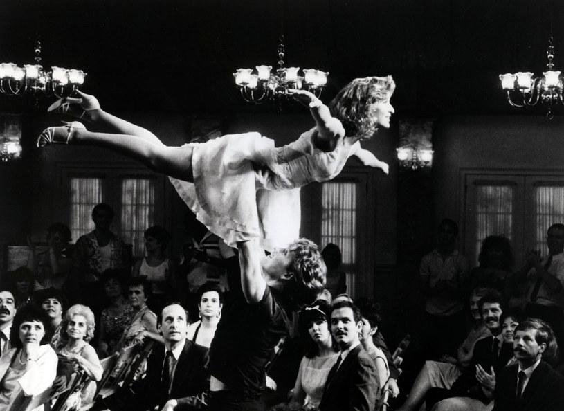 "Patrick Swayze i Jennifer Grey w ""Dirty Dancing"" /Collection Christophel /East News"