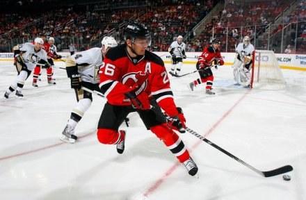 Patrik Elias z New Jersey Devils otrzymał Złoty Kij /AFP