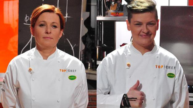Patrycja Stefanów-Kot (L) zrezygnowała już po pierwszym odcinku, dając szansę Magdalenie Perszke (P) /Polsat