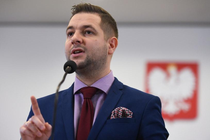 Patryk Jaki /Bartłomiej Zborowski /PAP