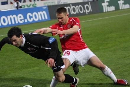 Patryk Małecki rozegrał dobry mecz /INTERIA.PL
