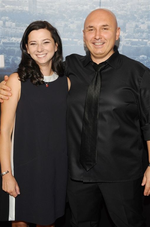 Patryk Vega z żoną /Agencja W. Impact