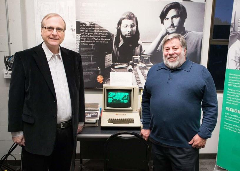 Paul Allen (z lewej) i Steve Wozniak - aż trudno uwierzyć, że wcześniej się nie spotkali. Fot. Dario Impini/Living Computer Museum + Labs. /materiały prasowe