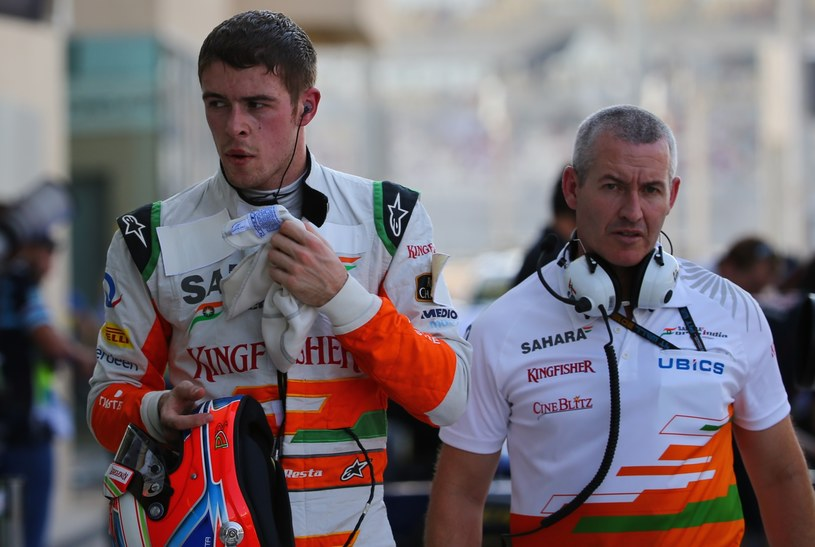 Paul di Resta (po lewej) zastąpi w najbliższym wyścigu Felipę Massę /AFP