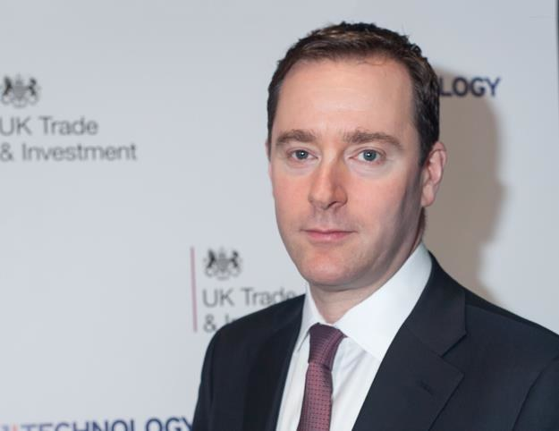 Paul Kahn, prezes Airbus Group UK. Fot. Darek Masłowski /&nbsp