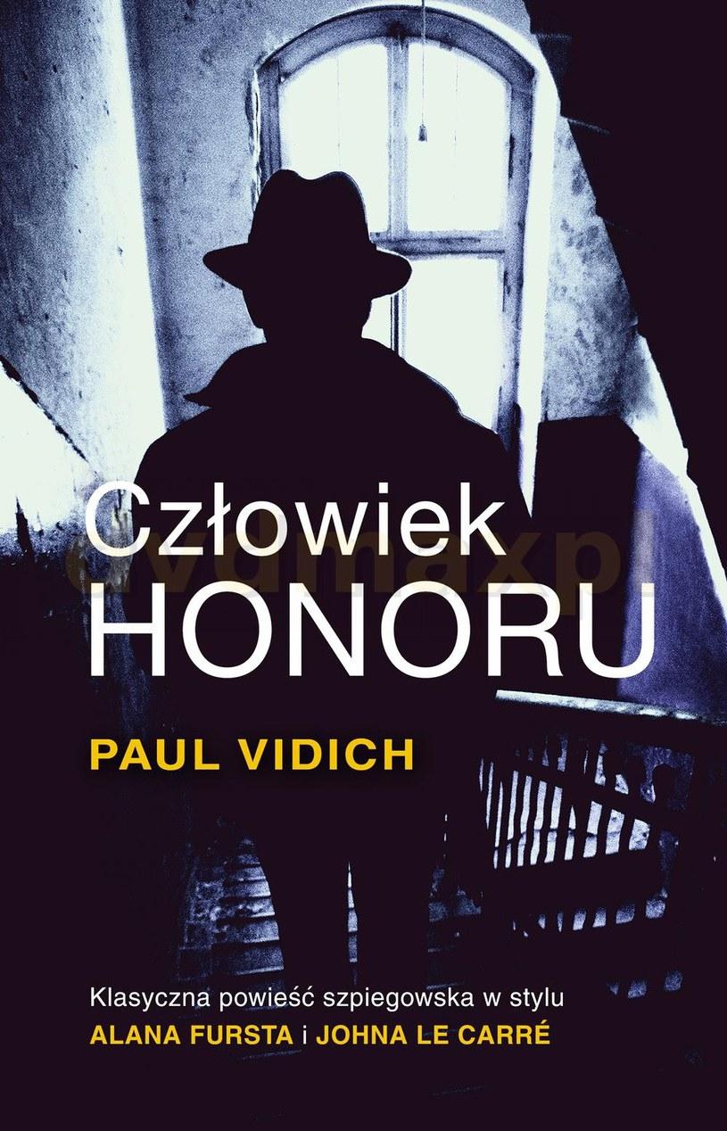 Paul Vidich, Człowiek honoru, wyd. Czarna Owca /materiały prasowe /materiały prasowe