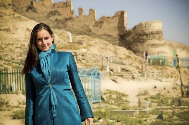 Paula Hanasz w Afganistanie/fot. Jake Simkin /RMF24