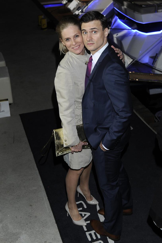 Paulina Andrzejewska i Mateusz Damięcki (2014) /AKPA