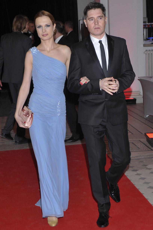 Paulina Chylewska i jej mąż Marcin Feddek /AKPA