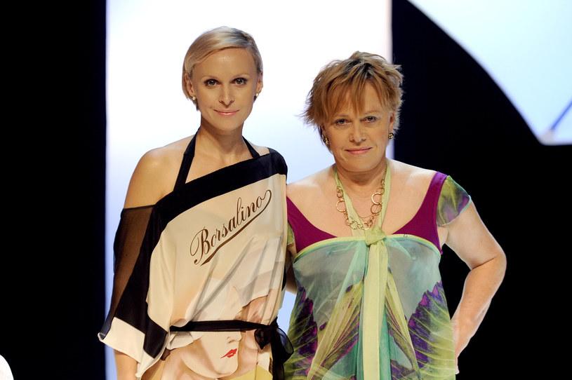 Paulina Holtz z mamą Joanną Żółkowską /AKPA