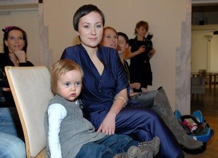 Paulina Przybysz z córka/Fot. Marek Ulatowski /MWMedia
