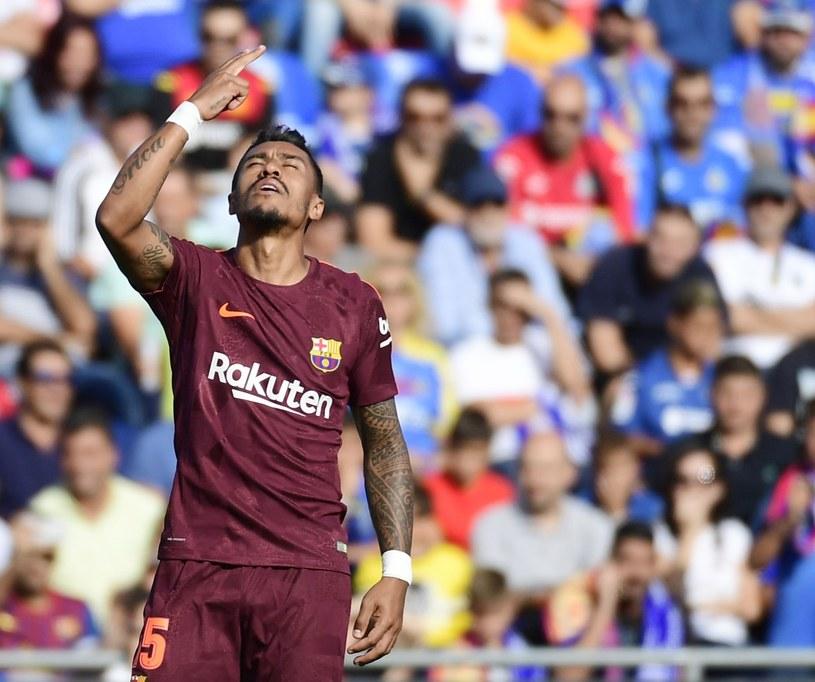 Paulinho strzelił pierwszego gola w barwach Barcelony /AFP