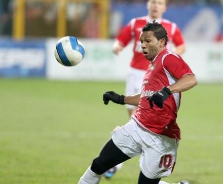 Paulista będzie teraz trenował z drużyną Młodej Ekstraklasy, Fot. T. Jagodziński /Agencja Przegląd Sportowy