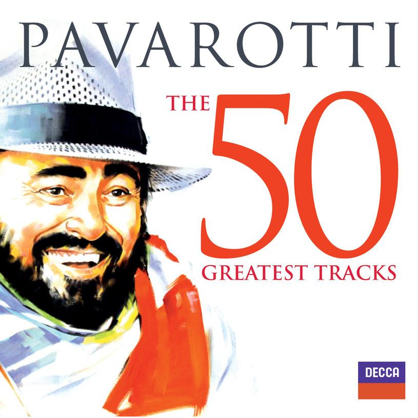 Pavarotti The 50 Greatest Tracks to kompletna kolekcja muzyki wielkiego człowieka i prawdziwej legendy /Styl.pl/materiały prasowe