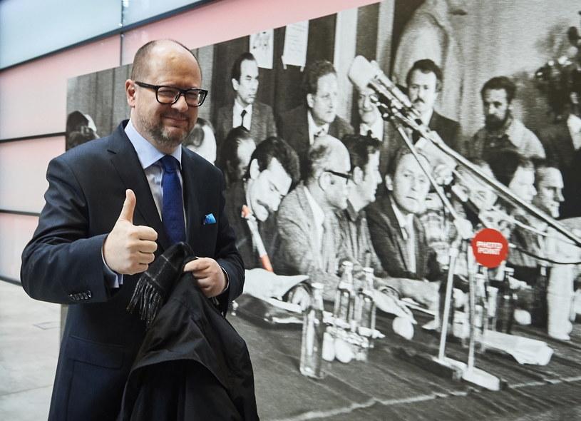 Paweł Adamowicz ogłosił swój start w wyborach / Adam Warżawa    /PAP
