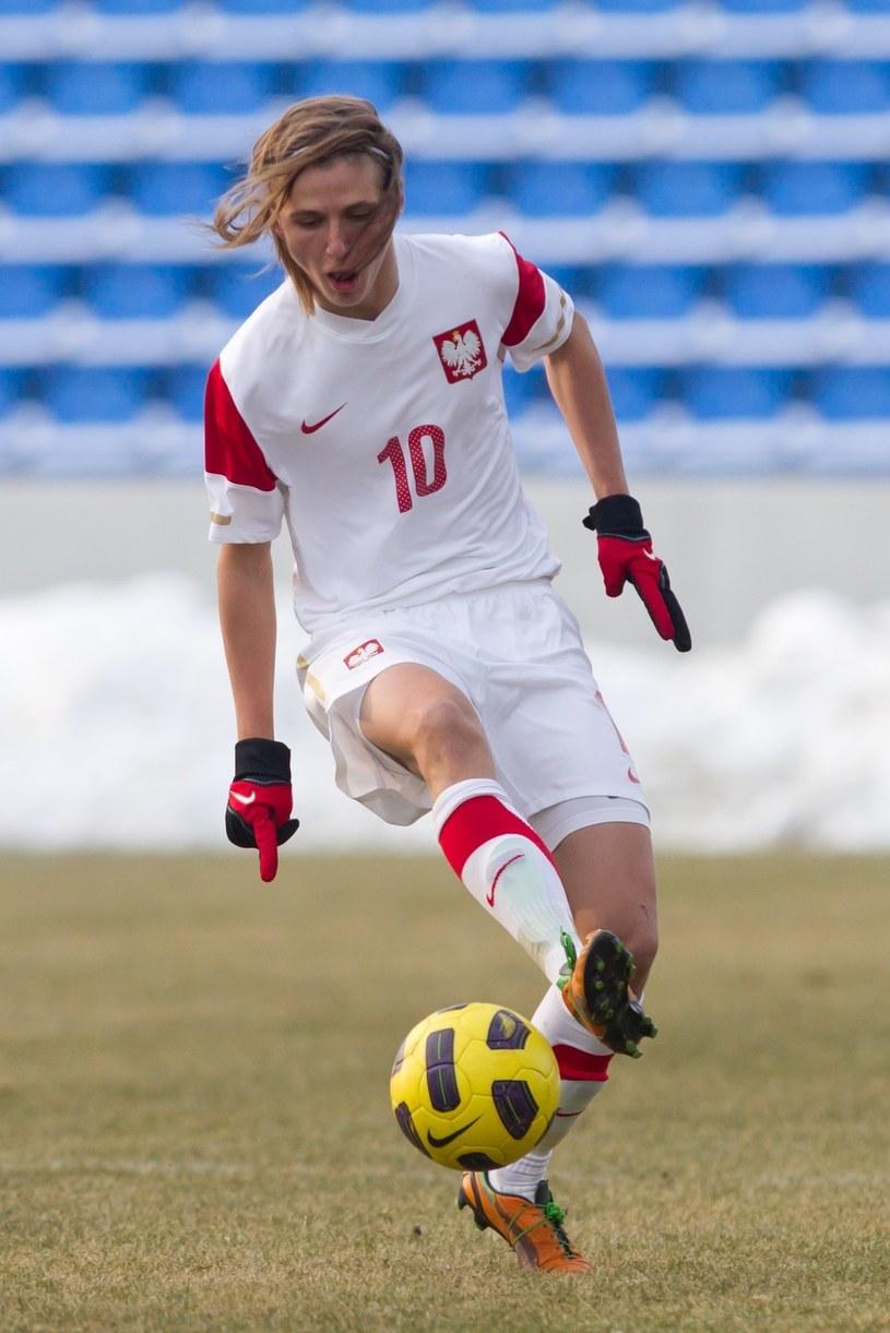 Paweł Cibicki w meczu reprezentacji Polski U-19 przeciwko Gruzji w 2013 roku /fot. Przemysław Szyszka/SE /East News