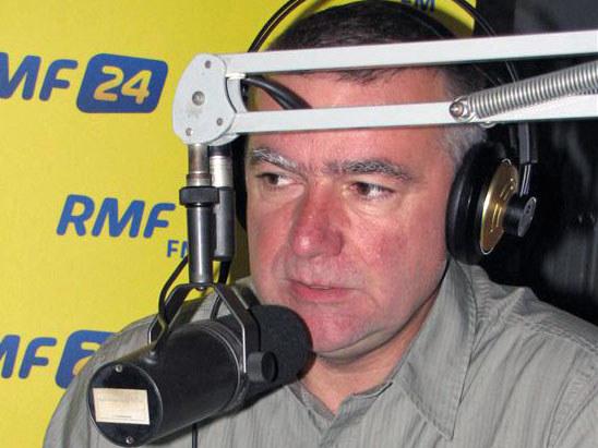 Paweł Graś w trójmiejskim studiu RMF FM.  /Fot. Wojciech Jankowski /RMF FM