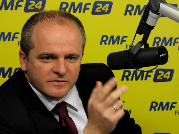 Paweł Kowal w Kontrwywiadzie RMF FM /RMF