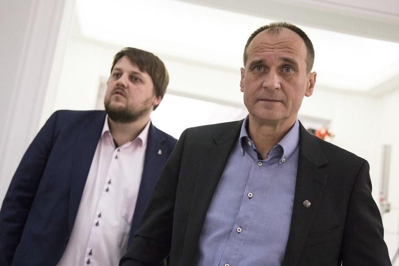 Paweł Kukiz i Piotr Apel /Maciej Luczniewski /Reporter