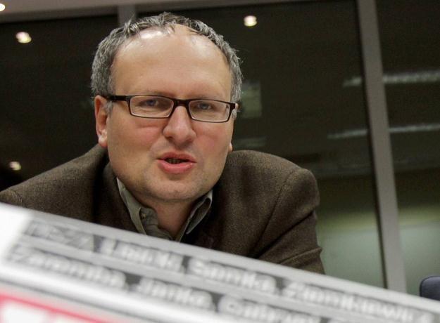 """Paweł Lisicki, były redaktor naczelny """"Uważam Rze"""", fot.  B. Zborowski /PAP"""