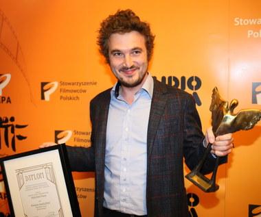 Paweł Maślona odebrał nagrodę Perspektywa im. Janusza Morgensterna