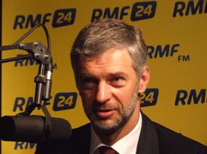 Paweł Poncyljusz w warszawskim studiu RMF FM  /Fot. Olga Wasilewska /RMF FM