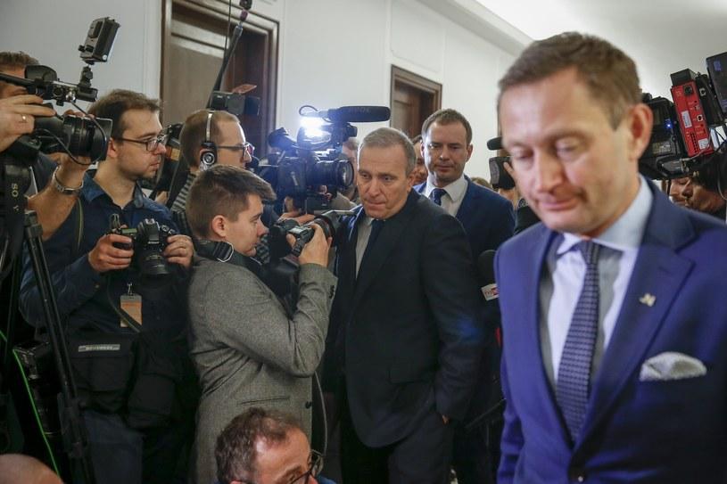 Paweł Rabiej i Grzegorz Schetyna /Andrzej Iwańczuk /East News