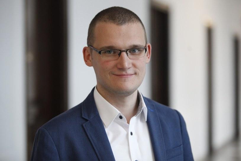 Paweł Szefernaker sekretarz stanu w Kancelarii Prezesa Rady Ministrów /Stefan Maszewski /Reporter